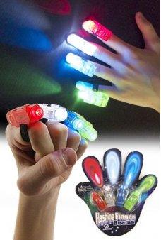 Laser Finger Beams 4 Color Lights