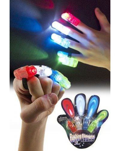 Laser Finger Beams 4 Color Lights