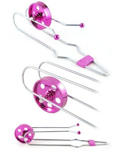 Magnetic Mini Gyro Wheel Shiny Pink