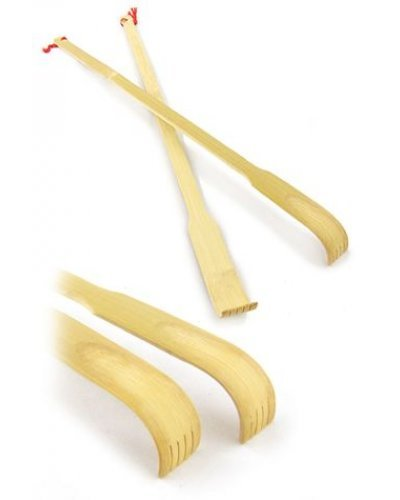 Back Scratcher Bamboo Wood Set of 2