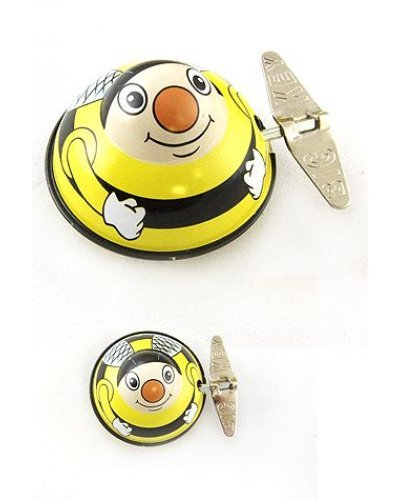 Hank Honey Bee Wacky Windup Tin Toy