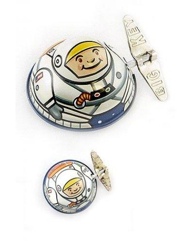 Ace Astronaut Wacky Windup Tin Toy