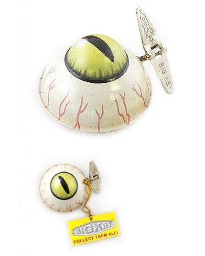 Evil Eye Wacky Windup Tin Toy