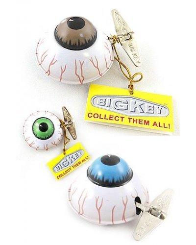 Big Eye Colors Wacky Windup Tin Toy