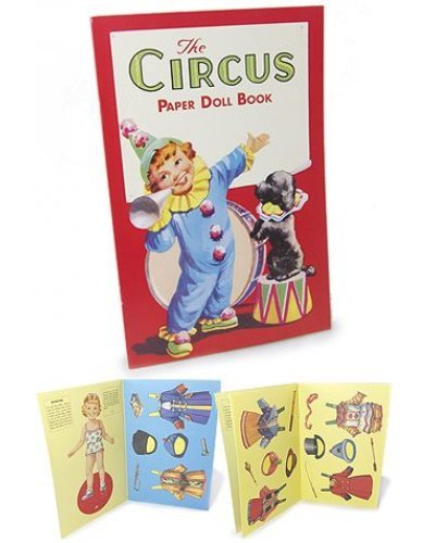 Circus Paper Doll Boy and Girl Book