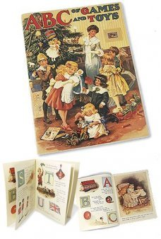Christmas ABC Toys Victorian Book