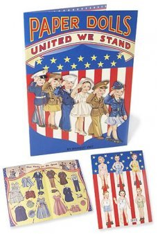 United We Stand Paper Doll Patriots