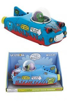 Get Away Car Uglydoll Ox Tin Racer