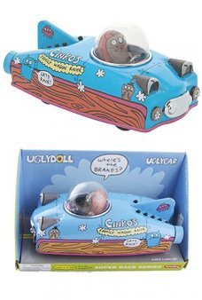 Woody Wagon Racer Tin Car Uglydoll
