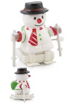 Snowman on Skis Winter Wind Up