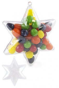 Wishing Star Clear Ornament Candy Box
