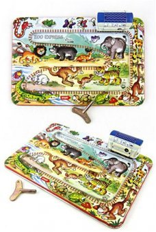 Zoo Animals Express Train Classic Set