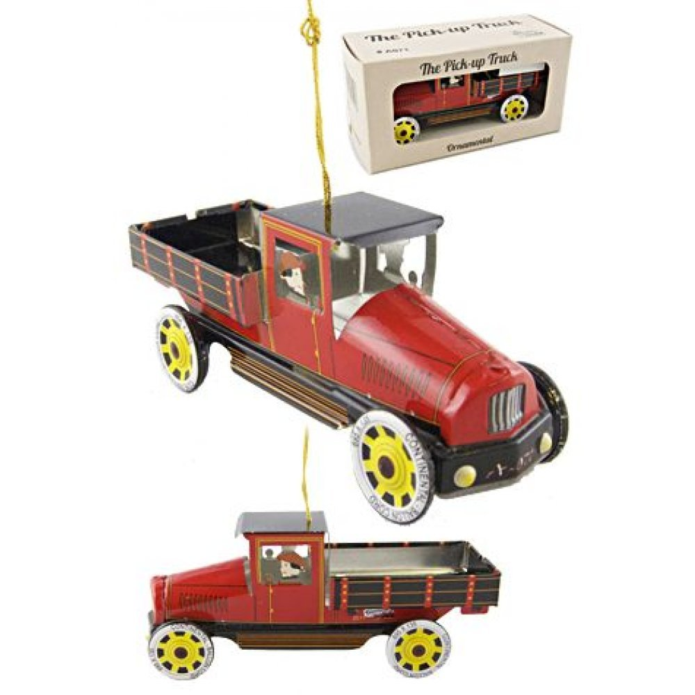 Christmas Red Truck.Christmas Red Truck Ornament