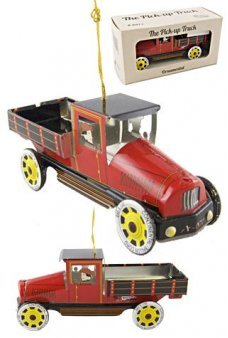 Christmas Red Truck Ornament