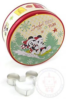 Mickey Minnie Holiday Joy Cookie Set