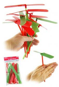 Christmas Dragonflies Propellers Dozen