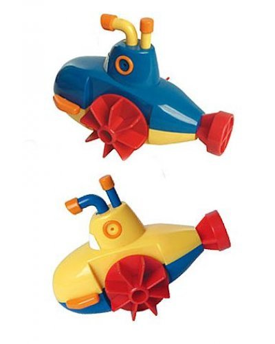 Super Submarine Wind Up Tub Toy