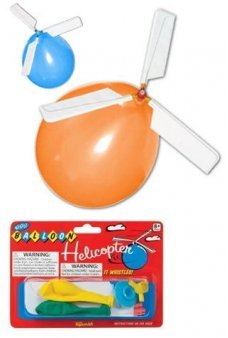 Balloon Helicopter Whistling Flyer