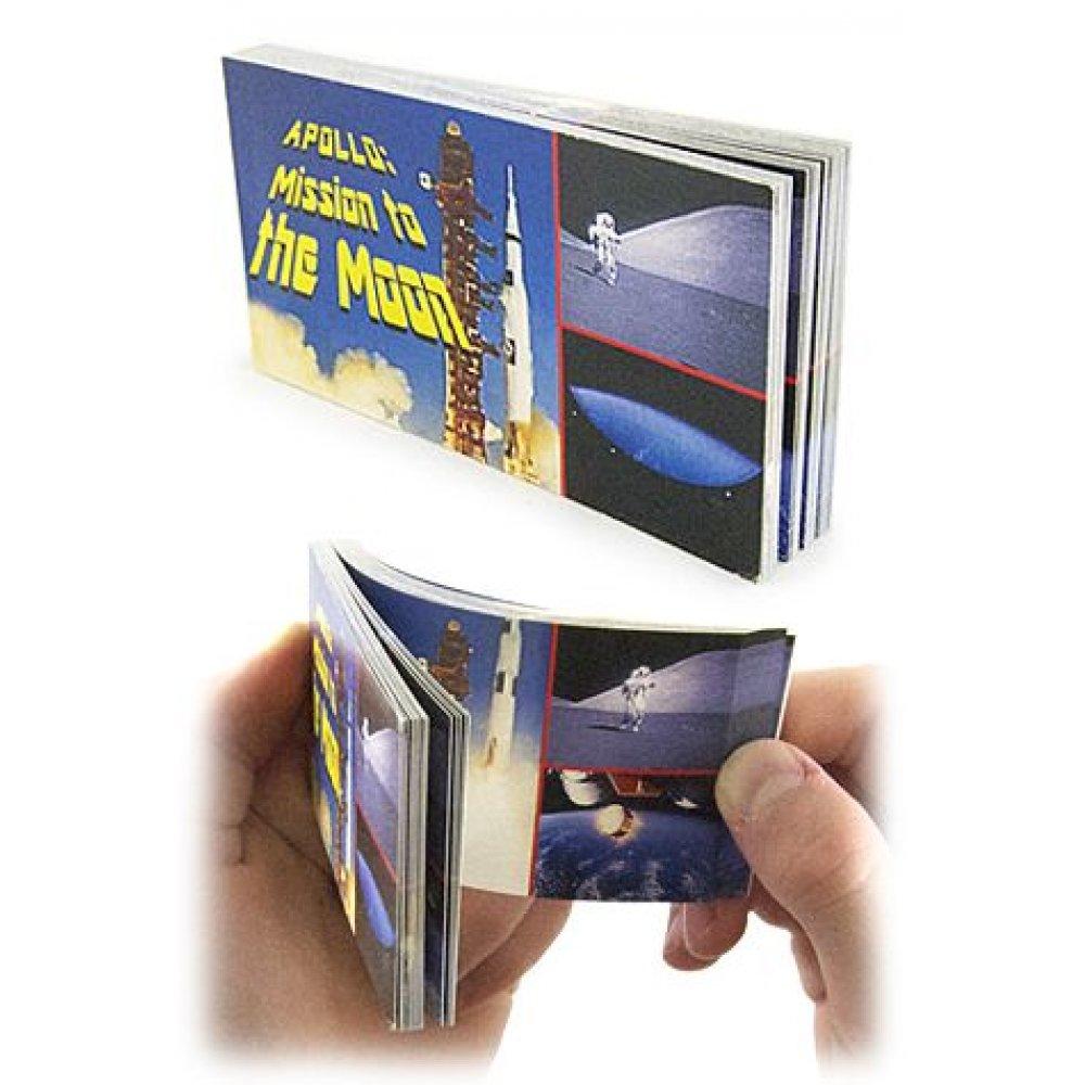Apollo Moon Mission NASA Flip Book