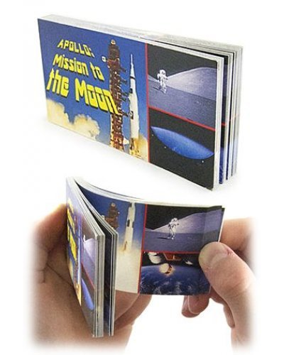 Apollo Moon Mission NASA Flip Book