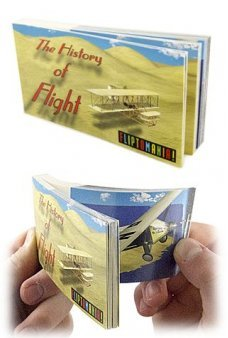 History of Flight Morphing Flip Book