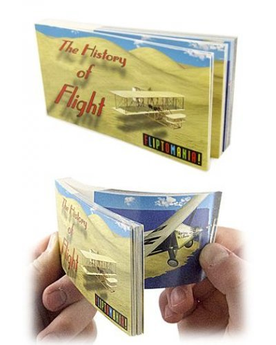 History of Flight Morphing Flip Book