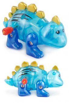 Stan Stegosaurus Blue Walking Dino