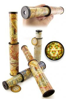 Pirate Treasure Map Kaleidoscope
