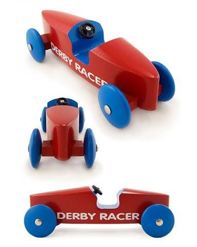 Pinewood Derby Racer Red Car Schylling
