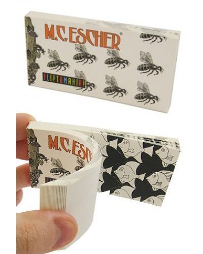 MC Escher Morphing Art Flip Book