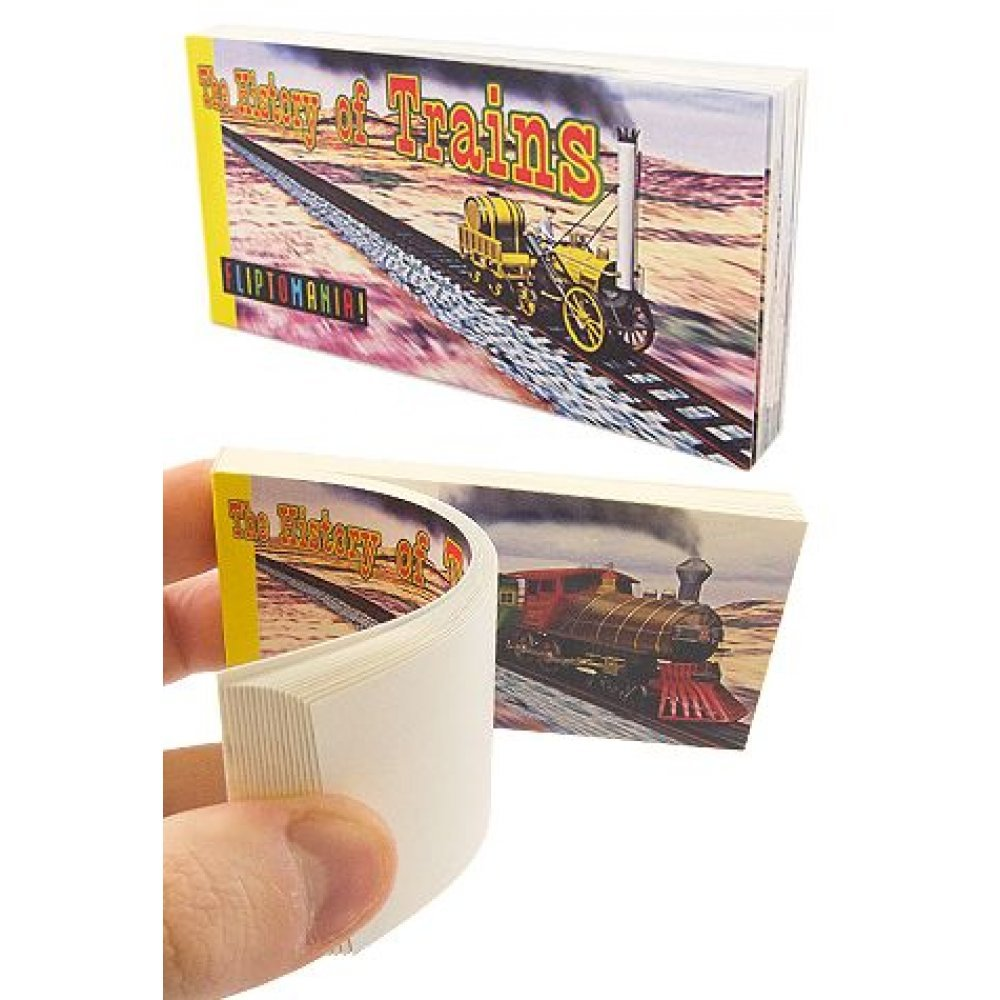 History of Trains Morphing Flip Book