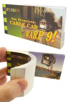 San Francisco Cable Car Warp Flip Book