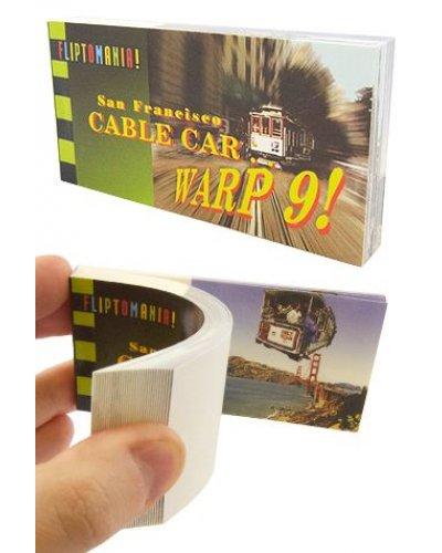 San Francisco Cable Car Warp Flip Book