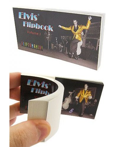 Elvis Dances Movie Flip Book 1956