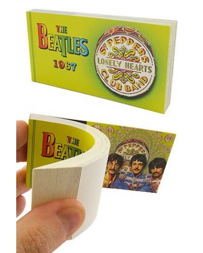 Beatles Sgt Peppers Flip Book 1967