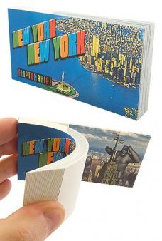 New York City Liberty to Kong Flip Book