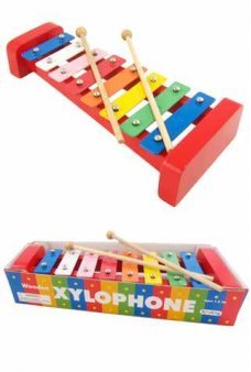 Xylophone Colorful Metal and Wood