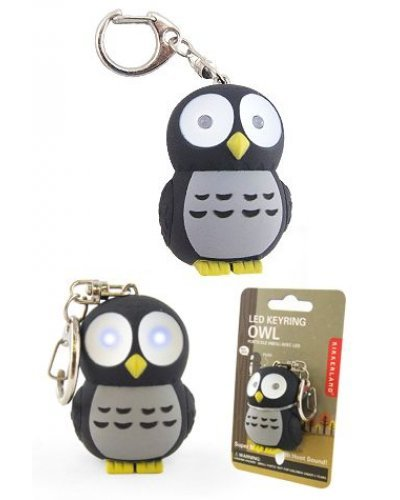 Owl LED Keyring Glow Light Hoot Hoot