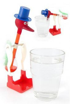 Famous Drinking Bird Water Bobbing