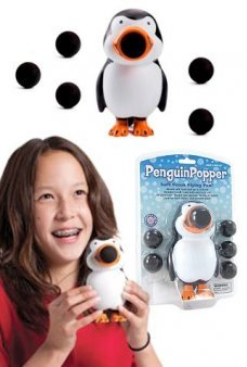Penguin Popper Soft Shooter Flying Fun