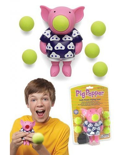Pig Popper Soft Shooter Flying Fun
