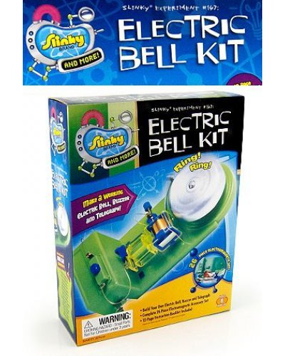 Electric Bell Kit by Slinky Science