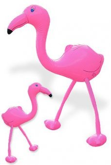Pink Flamingo Inflatable Huge 26 inch