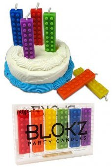 Blokz Party Candles Lego Blocks Style