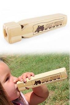 Wood Train Whistle Large Deluxe
