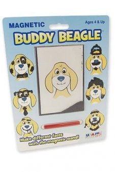 Buddy Beagle Retro Magic Magnet Hair