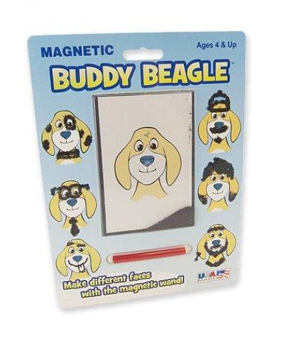 Buddy Beagle Retro Magic Magnet Hair