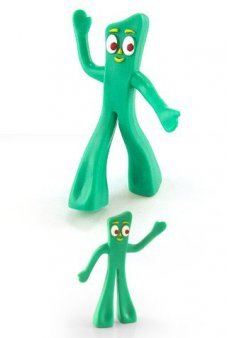 Gumby Mini Posable Green Gumbitty
