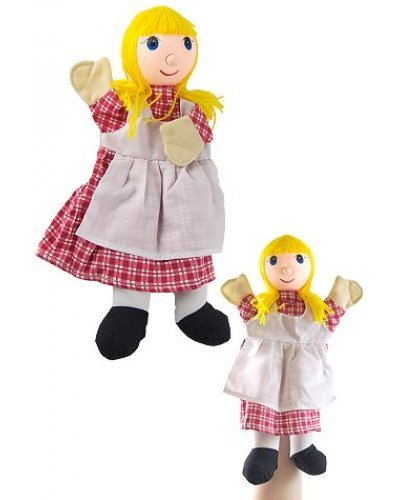 Goldilocks Hand Puppet 14 inches