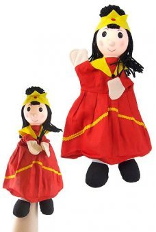 Pretty Princess Hand Puppet 14 inches